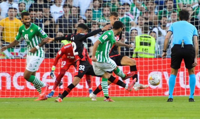 Liga | El Real Betis supera al Rayo Vallecano en un duelo vibrante