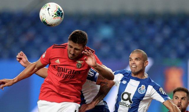 Rúben Dias pone rumbo al Manchester City