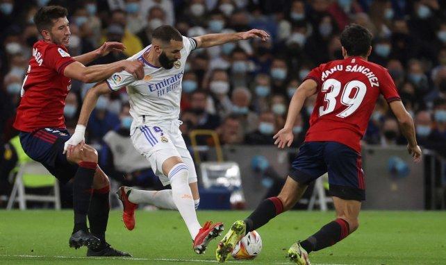 Liga | El Real Madrid se estrella con Osasuna en el Santiago Bernabéu