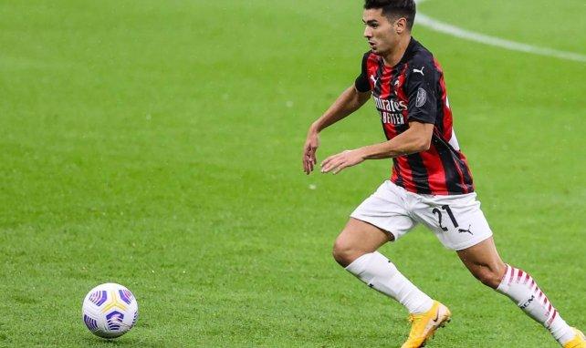 El AC Milan ya busca cómo retener a Brahim Díaz
