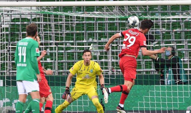Bayer Leverkusen, con el ingreso de Alario, goleó a Werder Bremen