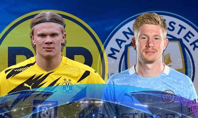 Las alineaciones del Borussia Dortmund - Manchester City