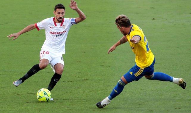 Liga   Remontada del Sevilla en Cádiz