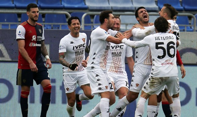 El Cagliari cede a un jugador