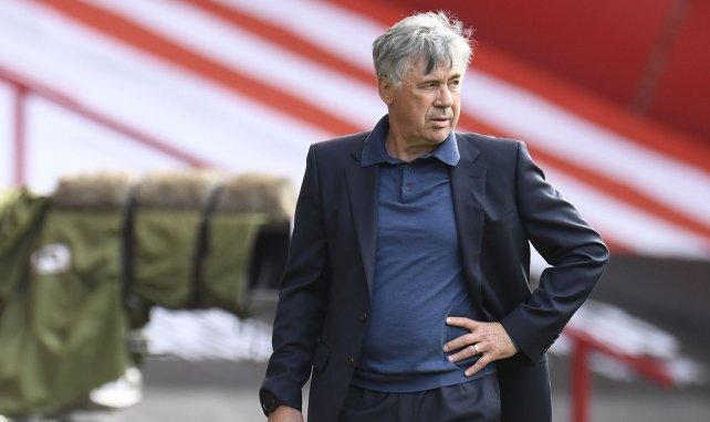 Carlo Ancelotti es el entrenador del Everton