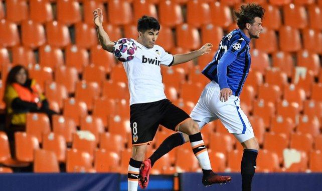 Carlos Soler es pieza clave del Valencia