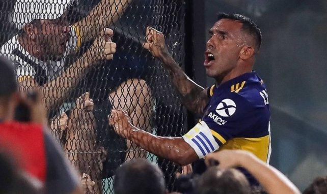 Carlos Tévez es un ídolo para la afición de Boca Juniors.