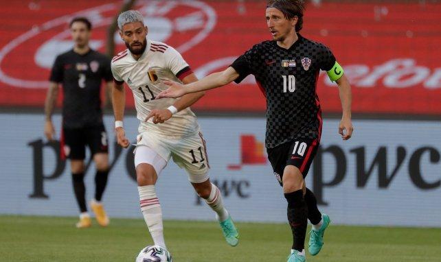 Luka Modric echa un capote a Gareth Bale