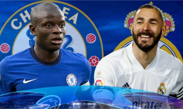 ¡Ya hay onces del Chelsea - Real Madrid!
