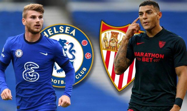 ¡Ya hay onces del Chelsea – Sevilla!