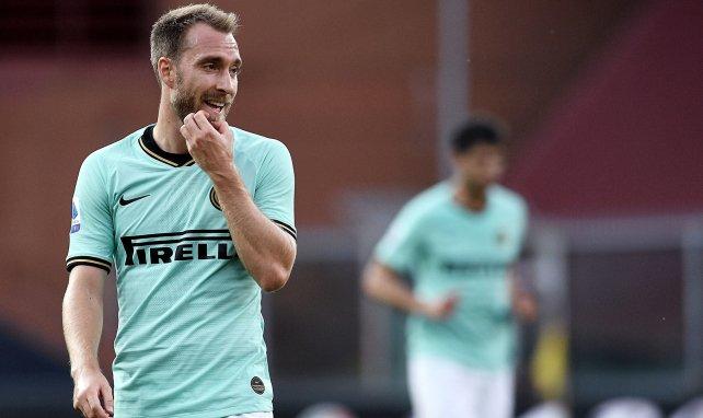 Inter | Antonio Conte aclara el futuro de Christian Eriksen