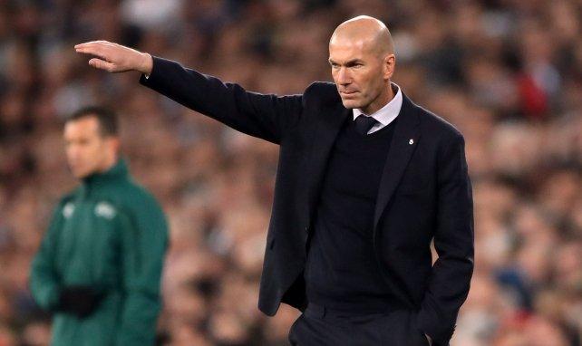 Así vio Zidane la victoria del Real Madrid