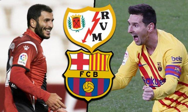 Ya hay alineaciones de Rayo Vallecano y FC Barcelona