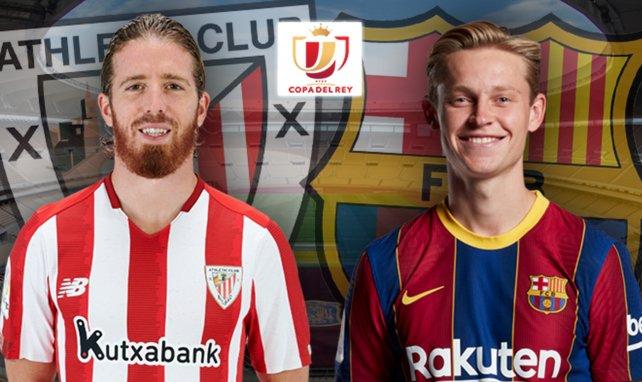 Confirmados los onces de Athletic de Bilbao y FC Barcelona