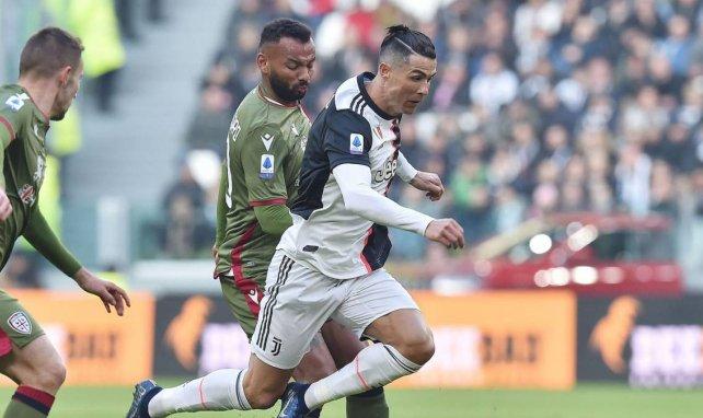 Cristiano Ronaldo, la gran estrella de la Juventus de Turín