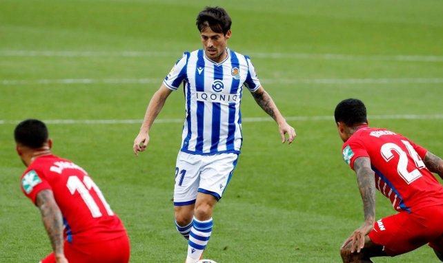 David Silva ya brilla con la Real Sociedad