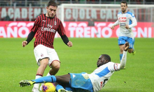 El Sevilla echa las redes en el AC Milan