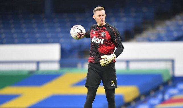 Dean Henderson quiere abandonar el Manchester United