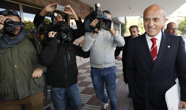 José María del Nido mantiene su discurso con el Sevilla