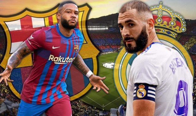 Se confirman los onces del FC Barcelona - Real Madrid