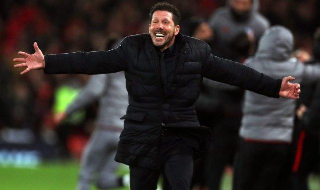 Simeone ama al Atlético de Madrid