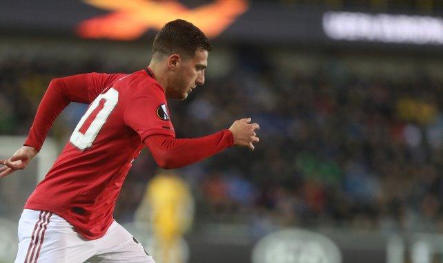 El objetivo del AC Milan en el Manchester United