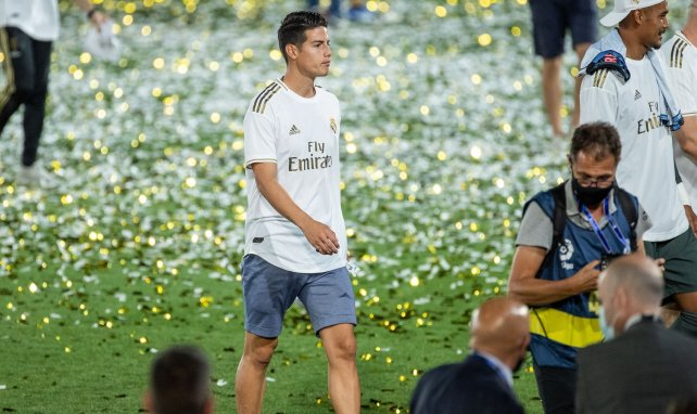 James Rodríguez cambiará Madrid por Liverpool