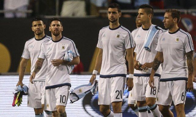 Javier Pastore, con la Selección de Argentina