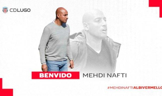 Mehdi Nafti deja de ser el míster del Lugo