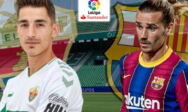 Confirmados los onces de Elche y FC Barcelona
