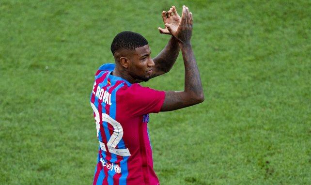 Emerson Royal, con la elástica del FC Barcelona