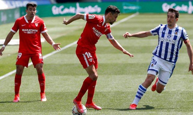 Liga | El Sevilla vence a la Real Sociedad y se aferra al título