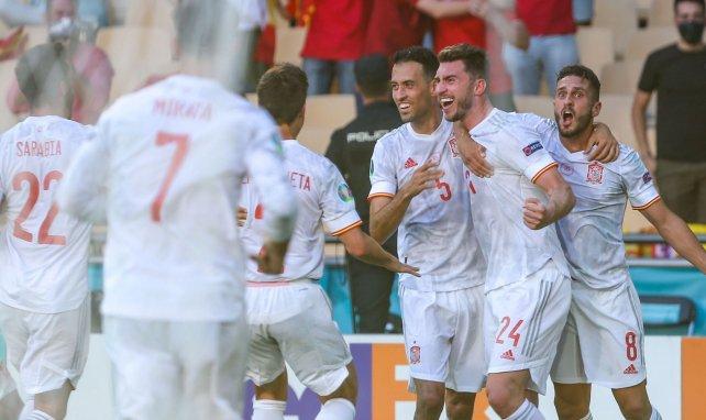 Eurocopa | España se desquita con goleada, Suecia sobrevive a Lewandowski