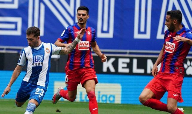 Adrián Embarba llegó al Espanyol en el mercado de invierno