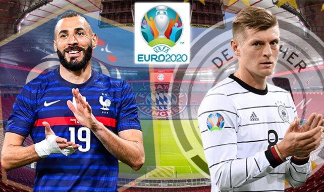 Karim Benzema y Toni Kroos, titulares en el partido de la jornada de la Eurocopa