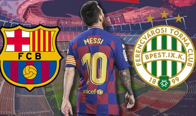 Se confirman las alineaciones del FC Barcelona – Ferencvaros