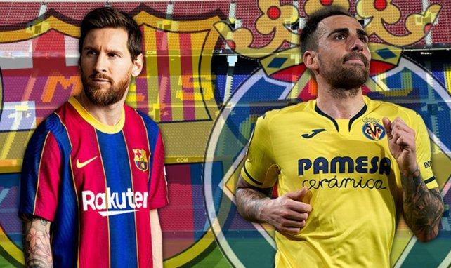 Lionel Messi y Paco Alcácer, frente a frente