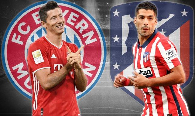 Las alineaciones del Bayern Múnich - Atlético de Madrid