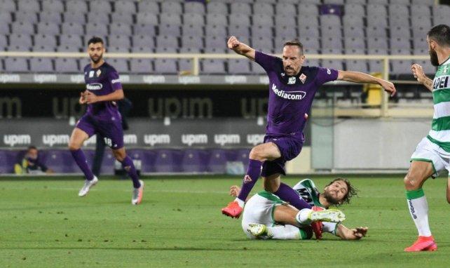 Franck Ribéry sale al paso de los rumores