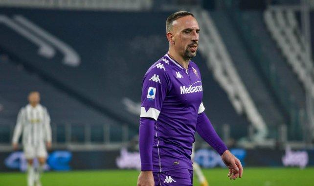 Fiorentina | La oferta de renovación a Franck Ribéry