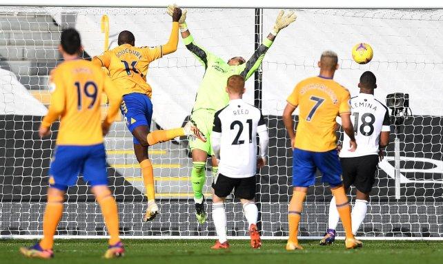 Abdoulaye Doucouré ha visto portería con el Everton