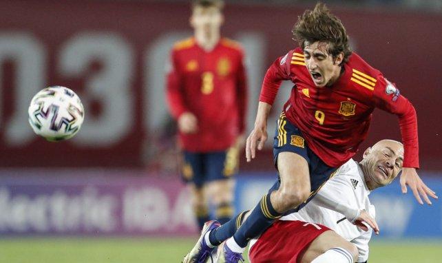 Bryan Gil con la selección española