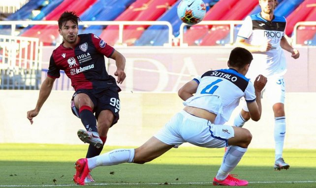 Gio Simeone milita actualmente en el Cagliari.