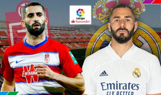 ¡Ya hay onces del Granada - Real Madrid!