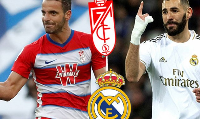 Granada - Real Madrid | Los onces probables