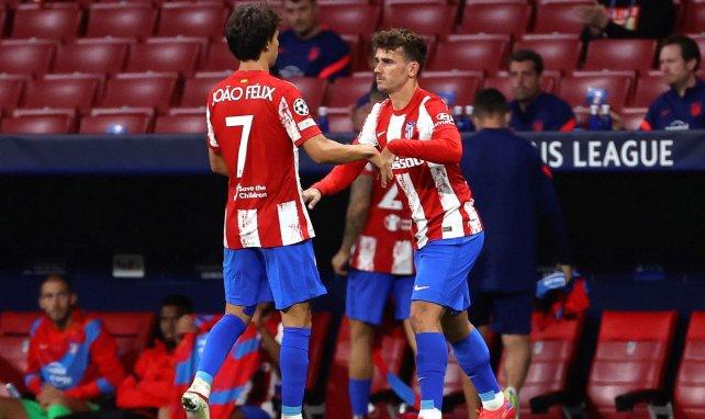 Atlético | Simeone no descarta a Joao Felix y Griezmann juntos