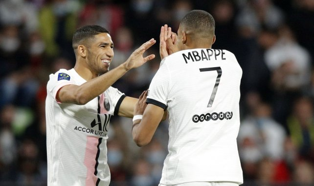 Achraf Hakimi alude a su salida del Real Madrid