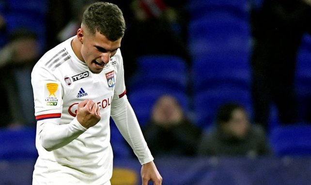 El OL reacciona al interés del Real Madrid por Houssem Aouar
