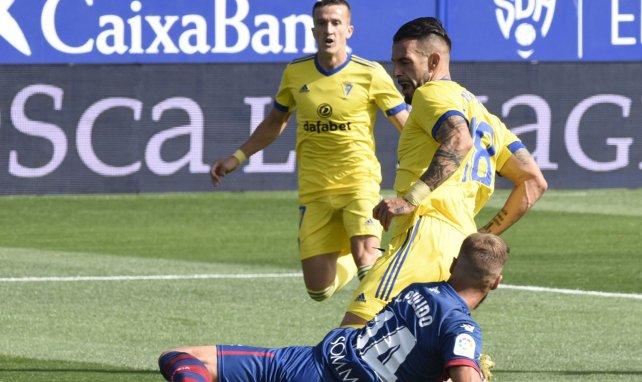 Liga | El Cádiz doblega al Huesca