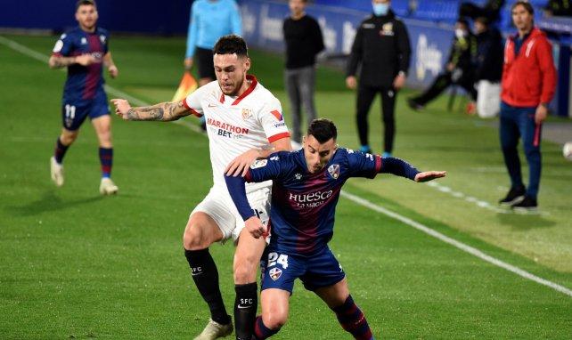 Liga | El Sevilla se impone al Huesca